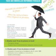 Invitation Conférence Fiscalité le 22 Octobre 2014 à Jérusalem