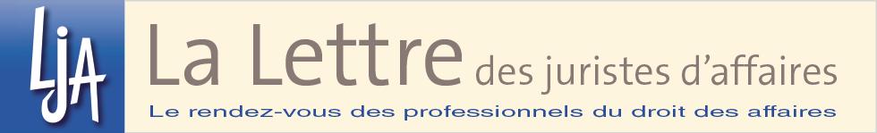 Logo lettre des juristes d'affaires